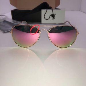 Accessories - NEW Classic Pink Aviators w/Bonus